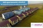 Magnolia Residence Sibiu trece pragul de 500 apartamente vandute
