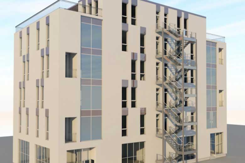 Magnolia Residence Sibiu a inceput constructia primului imobil cu spatii comerciale